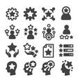 skill icon vector image