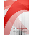 Wavy tech background vector image vector image