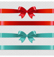 color bows collection vector image
