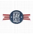 Independence Day Sale circle Label vector image vector image