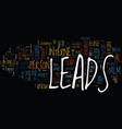 the insider s view into the mlm opt in leads vector image vector image