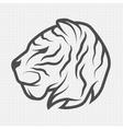 tiger symbol logo vector image