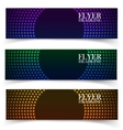 web banners One two three Presentation vector image