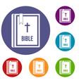 Bible icons set