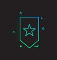 book mark icon design vector image