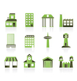Building and city icons