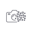 camera photography logo icon template digital vector image vector image