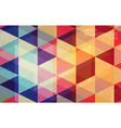 flat geometric triangle wallpaper for you design vector image vector image