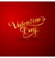 golden foil St Valentines Day vector image vector image