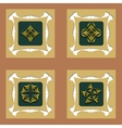Set of design decorative elements vector image vector image