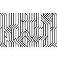 tech style seamless linear pattern monochrome vector image vector image