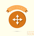 move arrows vector image
