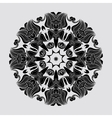 Abstract circular mandala vector image