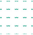 arrow up icon pattern seamless white background vector image vector image