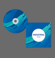 cd cover presentation design template with copy vector image vector image