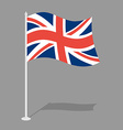 Great Britain Flag Official national symbol of vector image vector image