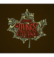 Happy thanksgiving icon logo or badge vector image