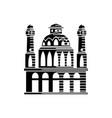 mosque icon design template vector image vector image