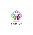 people family community symbol logo vector image vector image