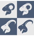 Sheep and goat symbol logo icon