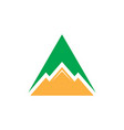 Triangle mountain business logo