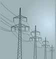 energy transmission vector image