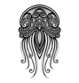 Abstract Sea Jellyfish vector image vector image