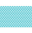 blue abstract triangles retro paper pattern vector image vector image