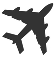 Bomber Flat Icon vector image vector image