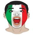 Go Italy vector image vector image