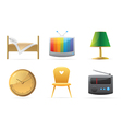Icons for home vector image
