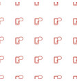 message on phone icon pattern seamless white vector image vector image
