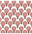 balloons air travel icon vector image
