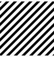 bold diagonal black stripe seamless pattern vector image vector image