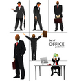 businessmen vector image vector image