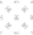 corn can pattern seamless vector image vector image
