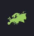 Eurasia computer symbol vector image vector image