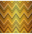 Seamless golden striped pattern vector image vector image