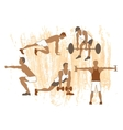Sport motivation poster vector image
