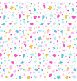 abstract seamless pattern in terrazzo style vector image vector image