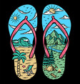 beach and mountain sandals