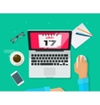 Calendar events planning management concept