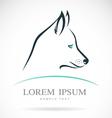 dog Siberian Husky vector image