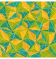 Geometry colorful background design vector image vector image