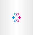 radio waves interference icon vector image