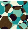 Retro abstract seamless pattern vector image