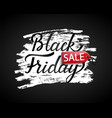 sale banner for black friday vector image