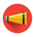 speaking trumpet icon vector image