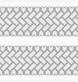 dotted tire tracks set vector image