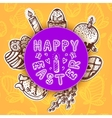Easter card concept vector image vector image